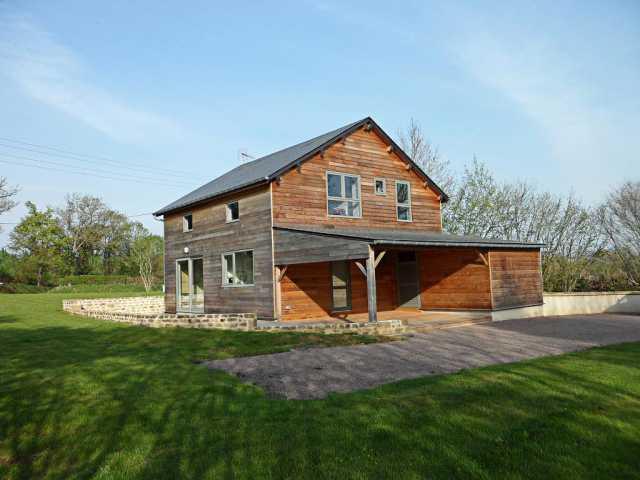 Maison ossature bois en campagne (2)