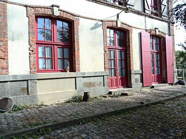 Porte et fenêtre cintre surbaissé