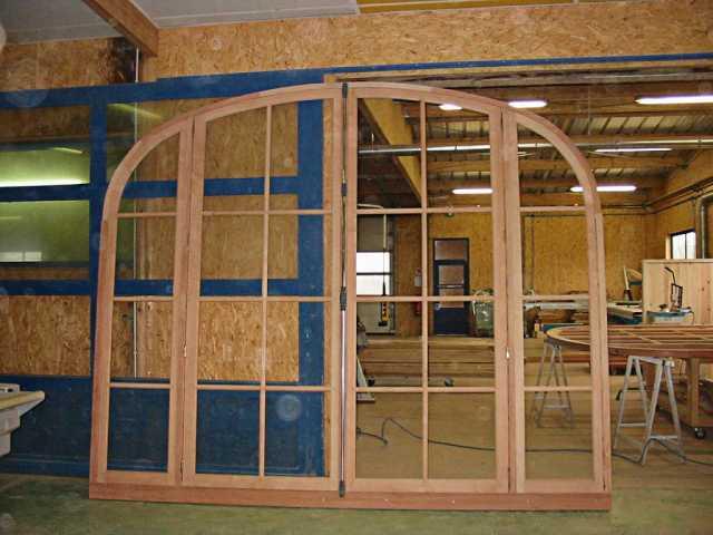 Fabrication grande fenêtre